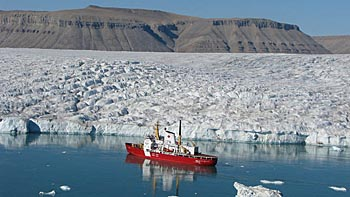 Canadian Coast Guard ship - photo by Fisheries and Oceans Canada