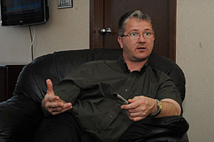 Darin King - Fisheries Minister - Newfoundland and Labrador -  Photo by Joe Gibbons - The Telegram